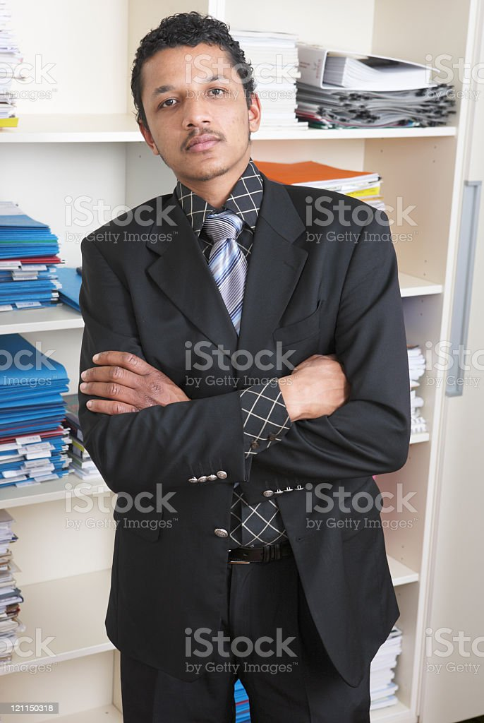North African business man royalty-free stock photo