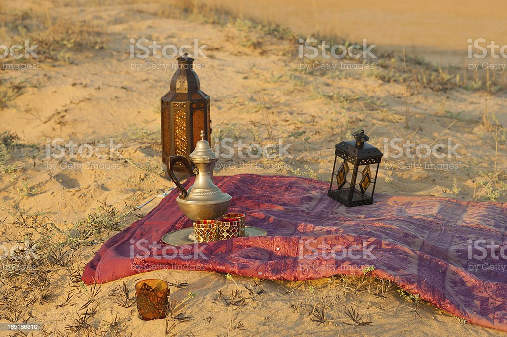 North African trinkets royalty-free stock photo