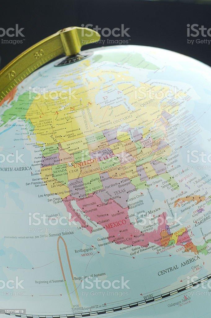 North America stock photo