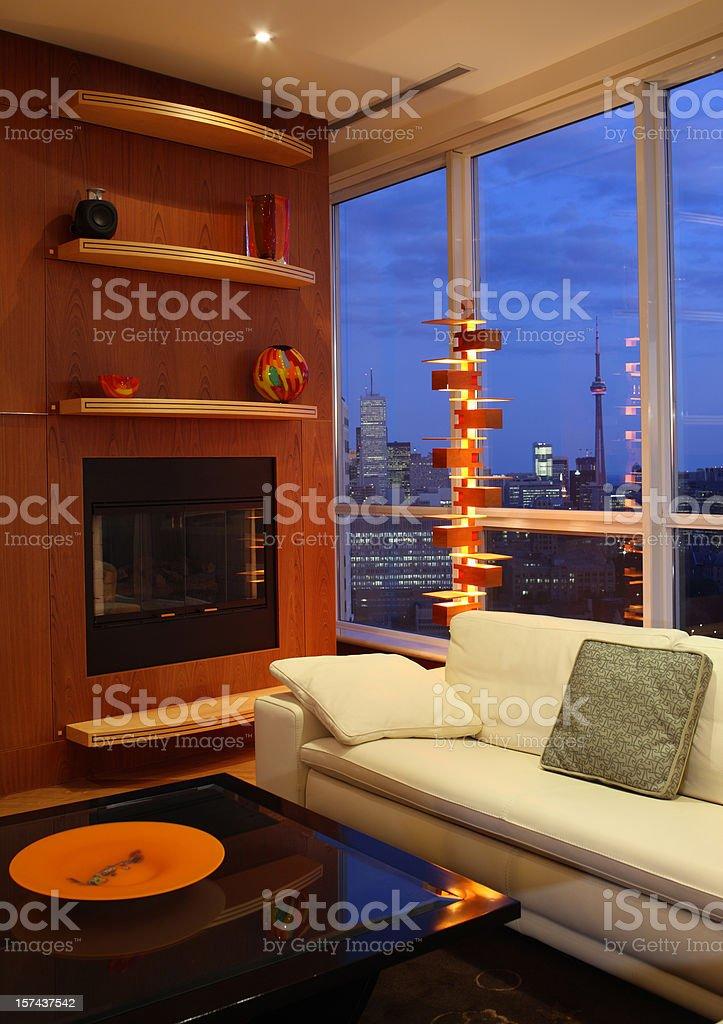 North American Condo royalty-free stock photo