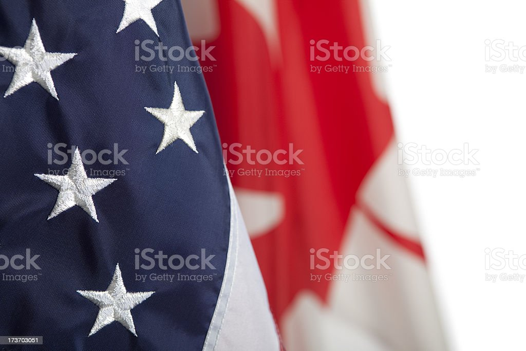 North American relations royalty-free stock photo