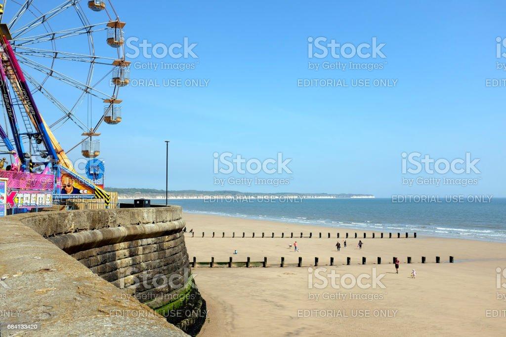 North bay, Bridlington, Yorkshire stock photo