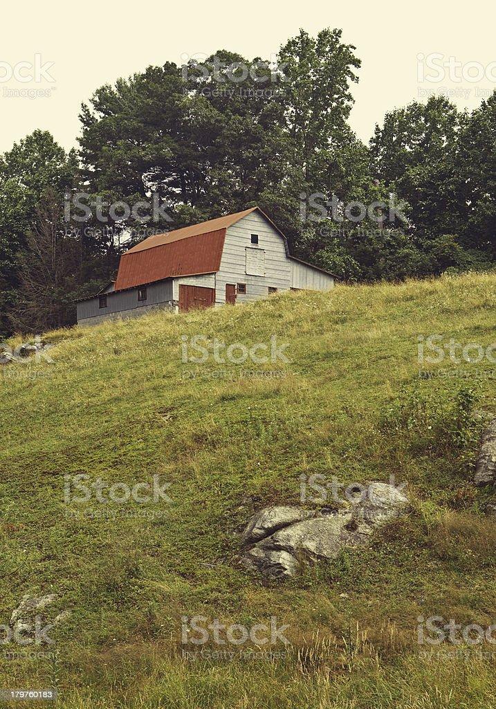 north carolina barnyard stock photo