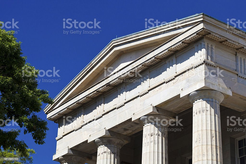 North Carolina Capitol Building In Raleigh, NC royalty-free stock photo