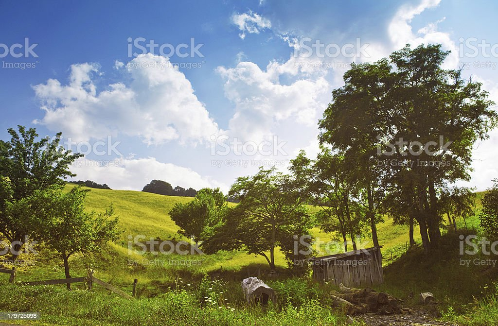 north carolina landscape stock photo