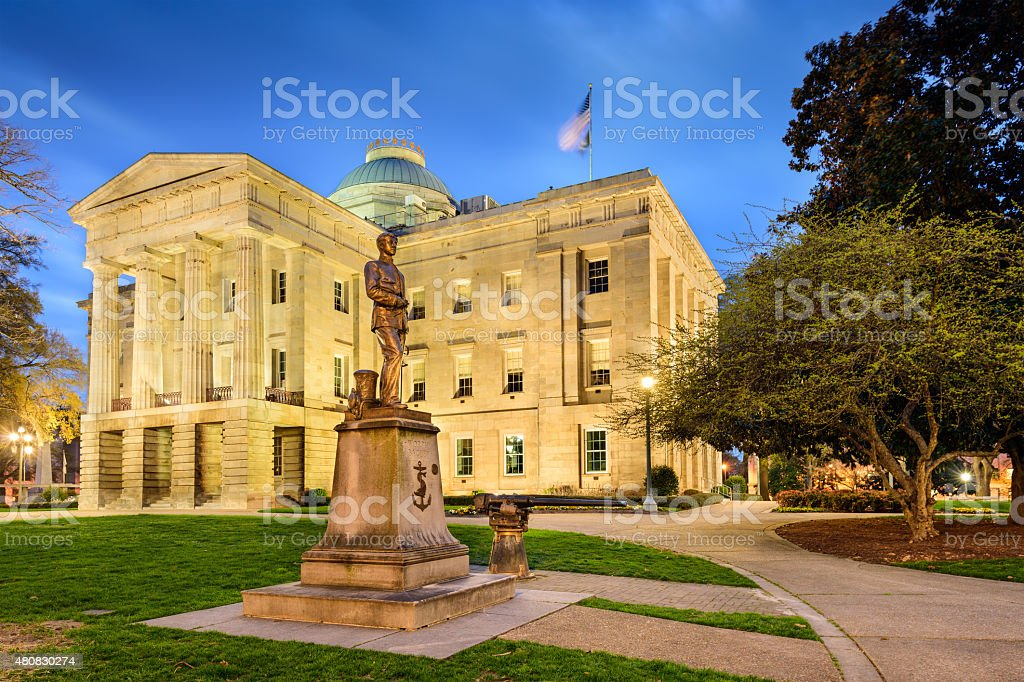 North Carolina State Capitol stock photo