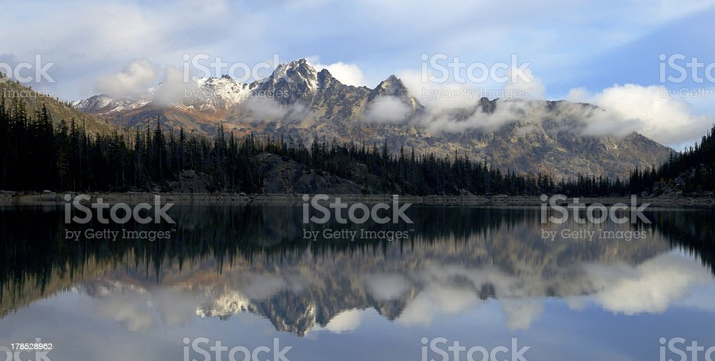 North Cascade Range royalty-free stock photo