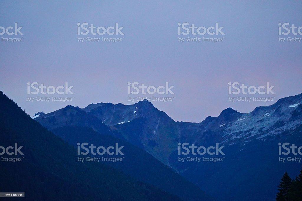 North Cascades Edge stock photo