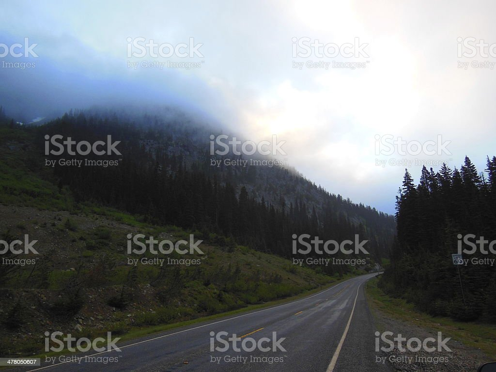 North Cascades Highway royalty-free stock photo