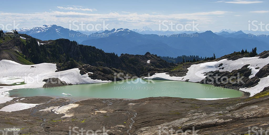 North Cascades National forest royalty-free stock photo