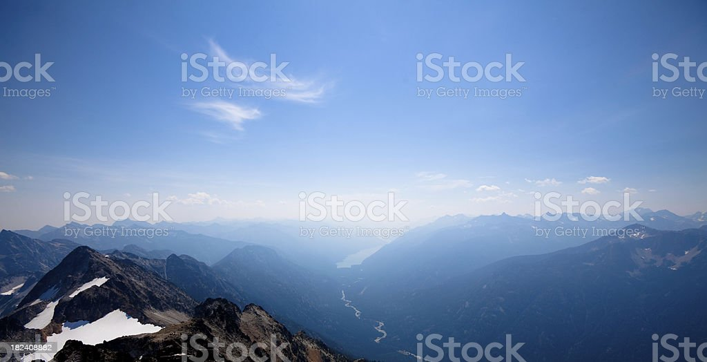 North Cascades National Park royalty-free stock photo