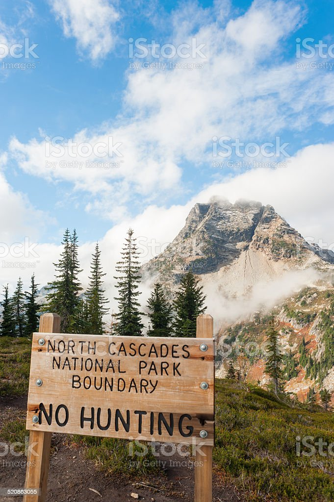 North Cascades National Park royalty-free stock photo