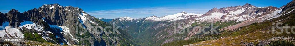 North Cascades National Park - September 2011 stock photo