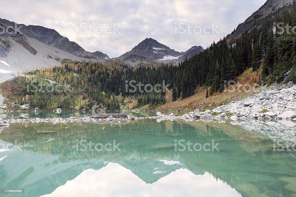 North Cascades National Park Wing Lake royalty-free stock photo