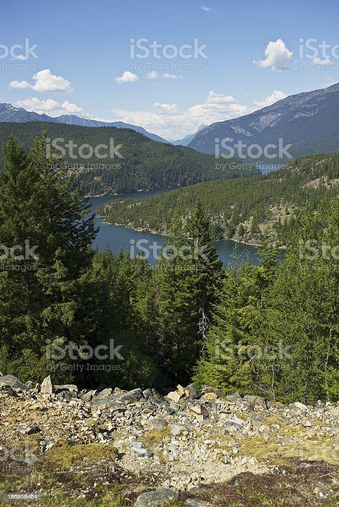 North Cascades Range stock photo
