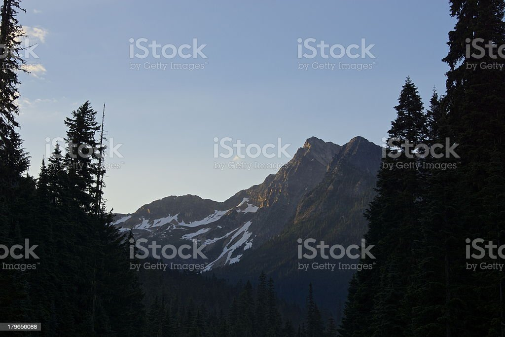 North Cascades Scene royalty-free stock photo