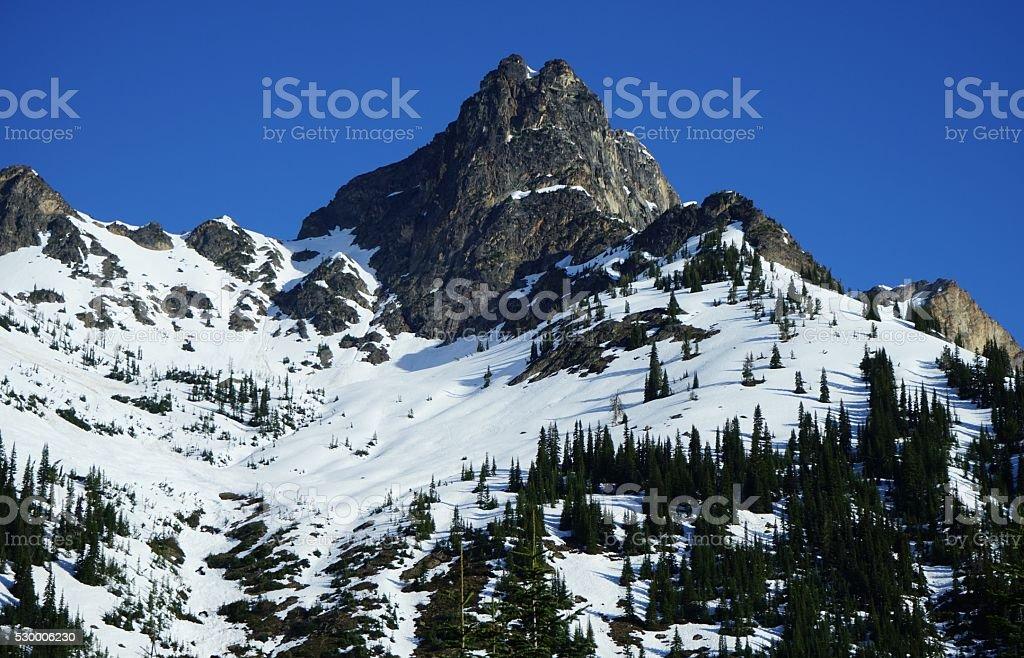 North Cascades Stone stock photo