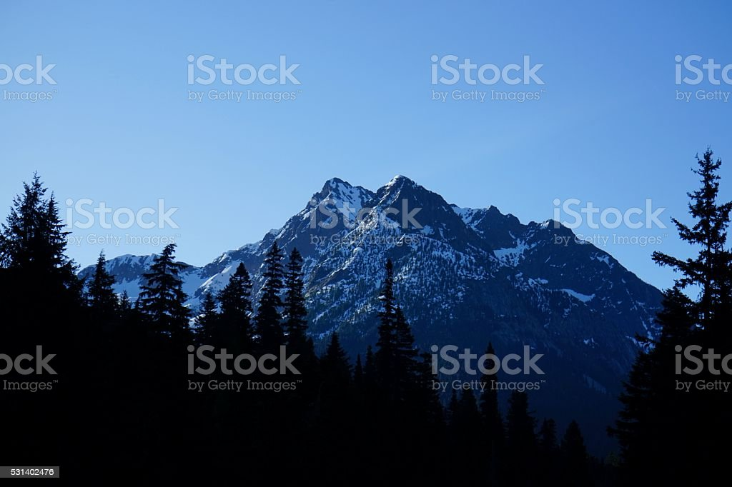 North Cascades Wilderness stock photo