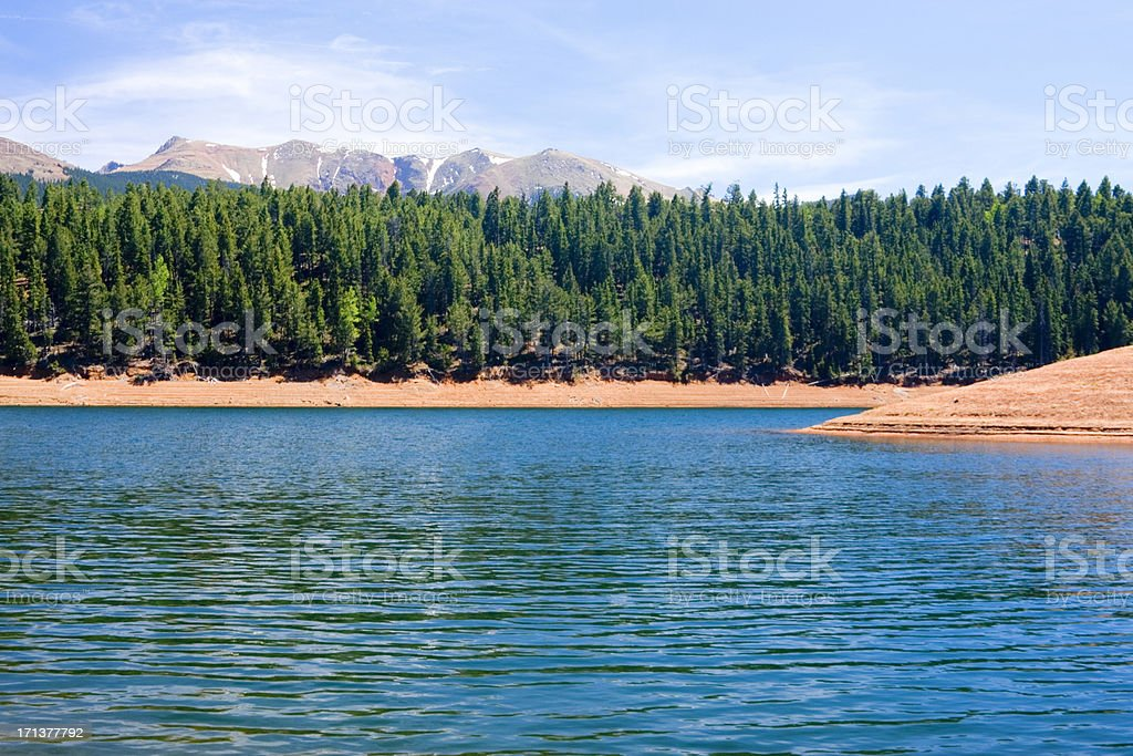 North Catamount Lake stock photo