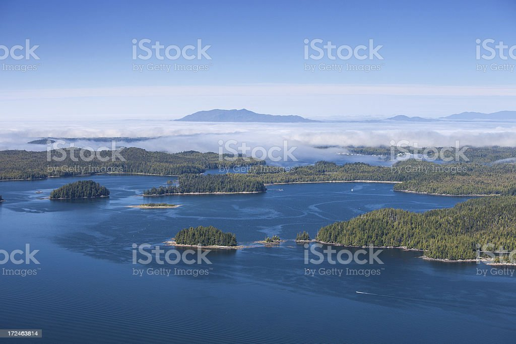 North Coast, British Columbia royalty-free stock photo
