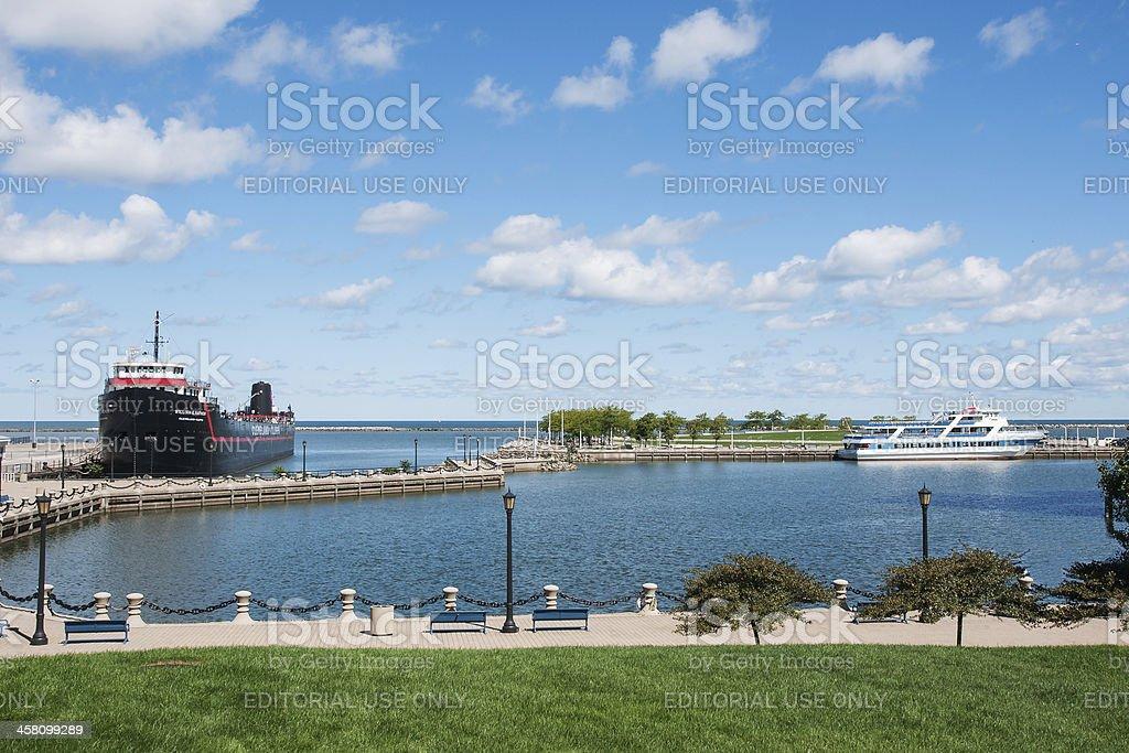 North Coast Harbor stock photo