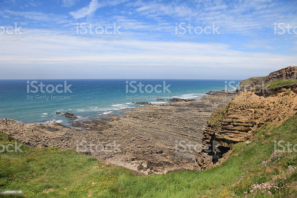 North Cornish Coast stock photo