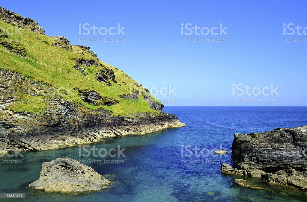 North Cornwall,England,UK royalty-free stock photo
