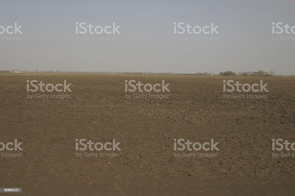North Dakota Landscape stock photo