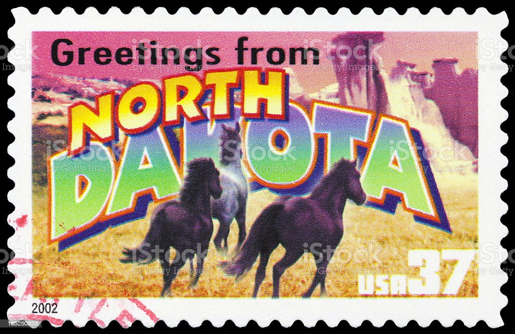 North Dakota stock photo