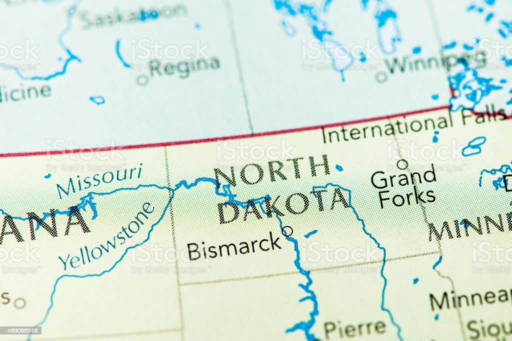 North Dakota USA stock photo