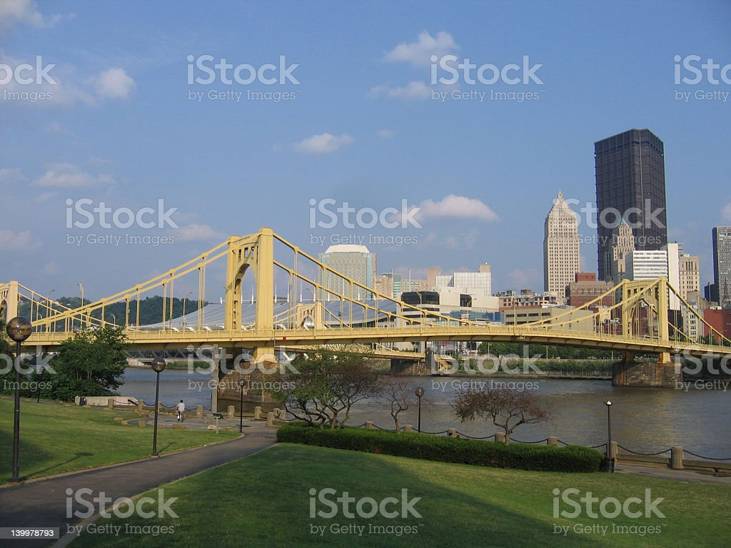 North Downtown Pittsburgh #1 stock photo