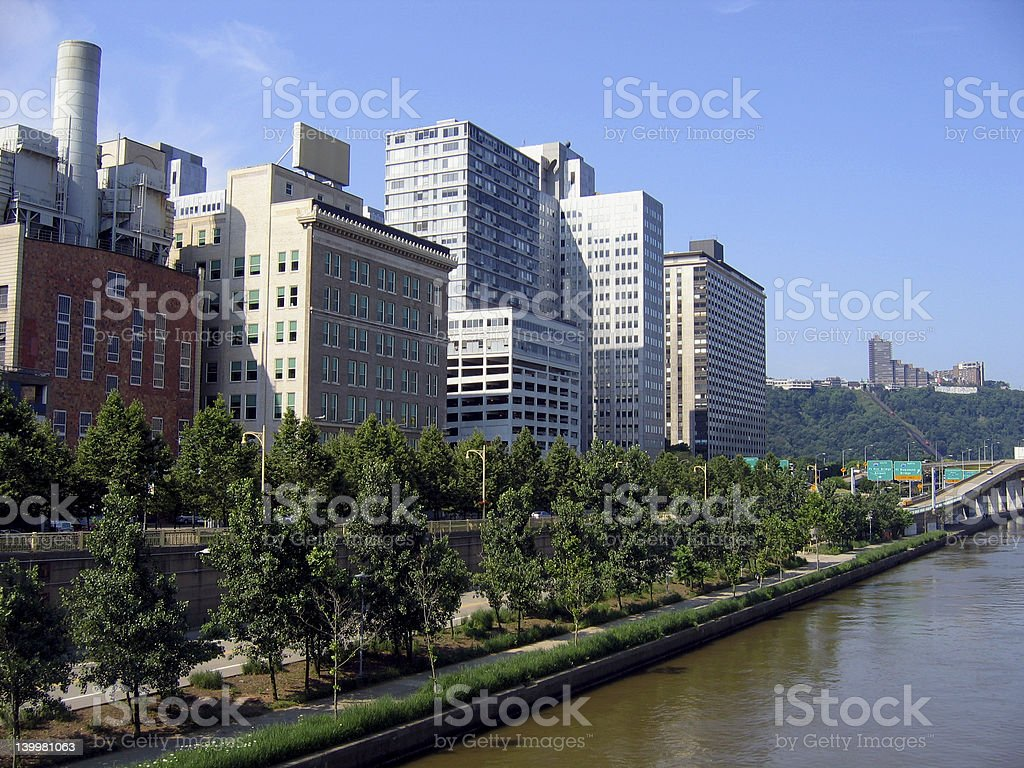 North Downtown Pittsburgh #3 royalty-free stock photo