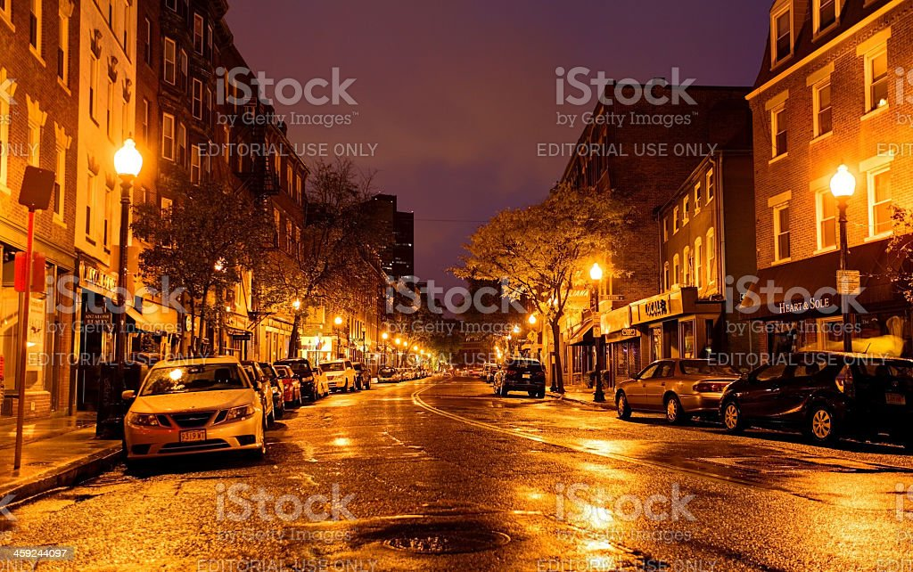 North End, Boston stock photo