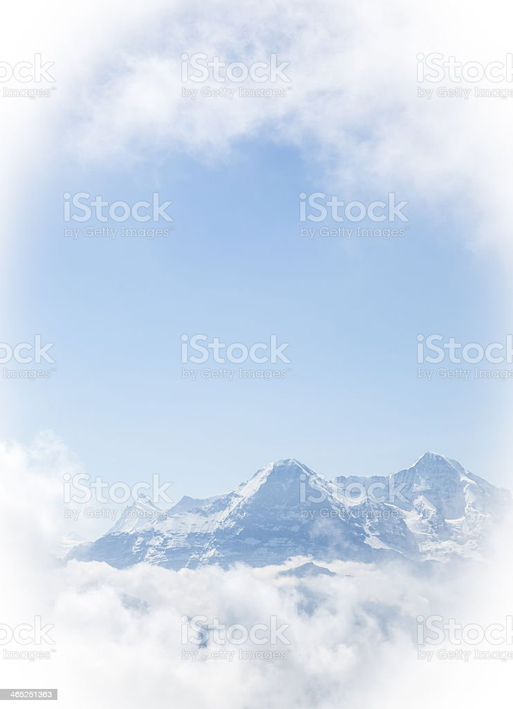 North Face royalty-free stock photo