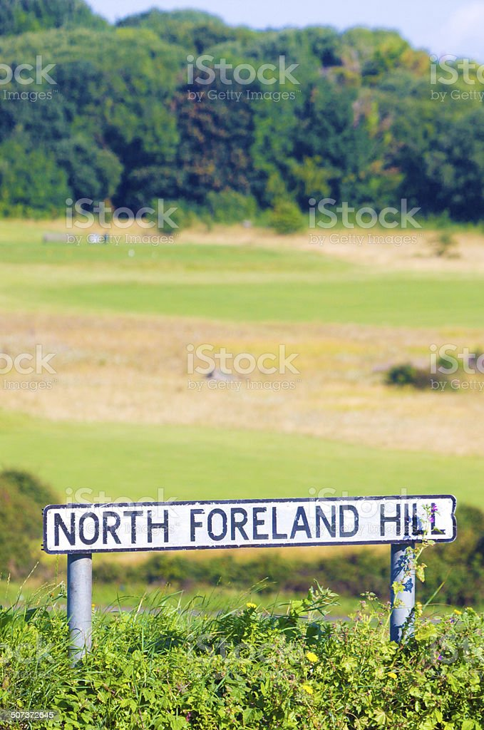 North Foreland Hill in Broadstairs, England royalty-free stock photo