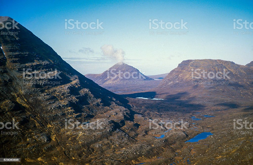 North From Torridon Beinn Eighe stock photo