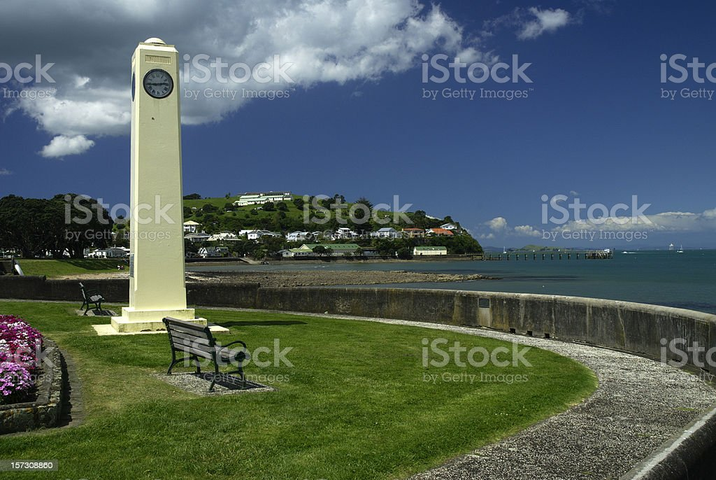 North Head Devonport stock photo