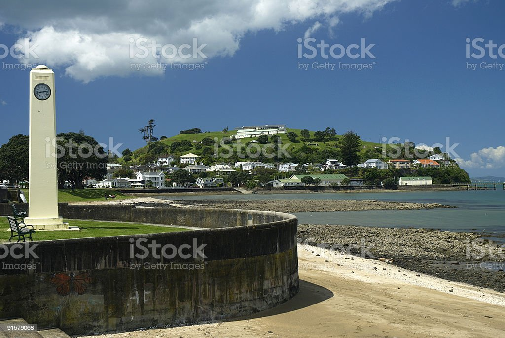 North Head Devonport royalty-free stock photo
