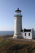 North Head Lighthouse On The Washington Coast