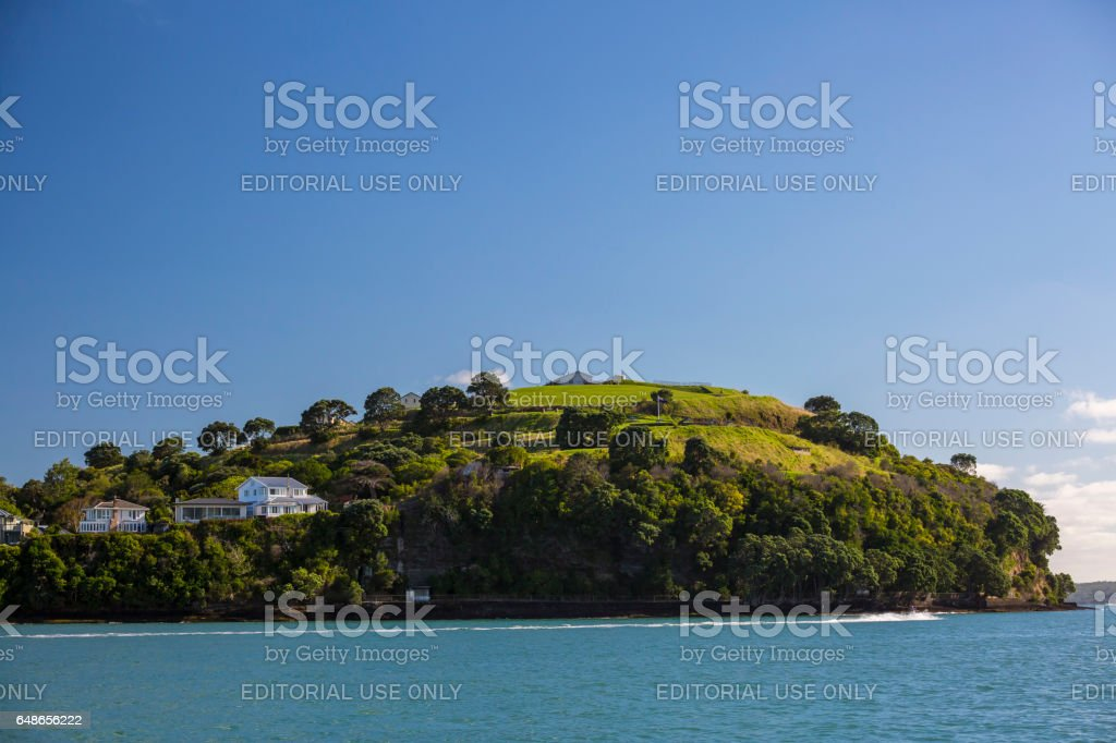 North Head of Auckland stock photo