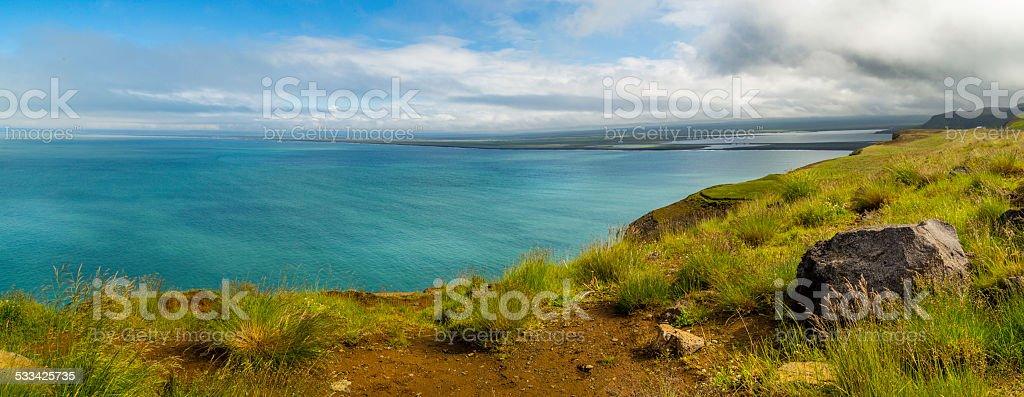 North Iceland Panorama stock photo
