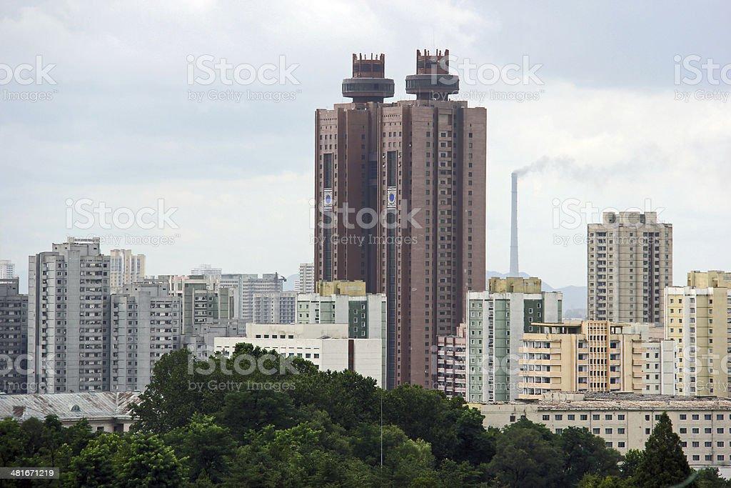 North Korea DPRK: Koryo Hotel Pyongyang stock photo