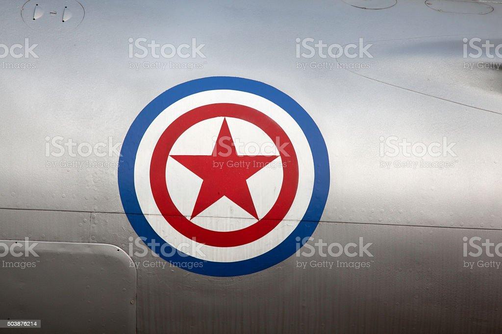 North Korea flag stock photo