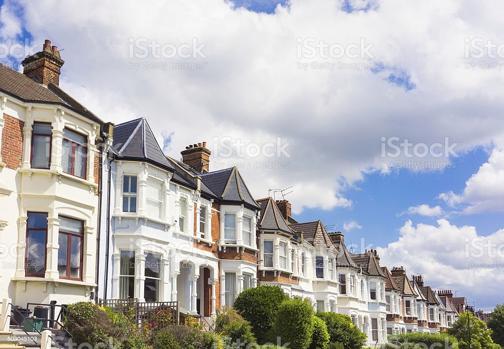 North London Properties stock photo