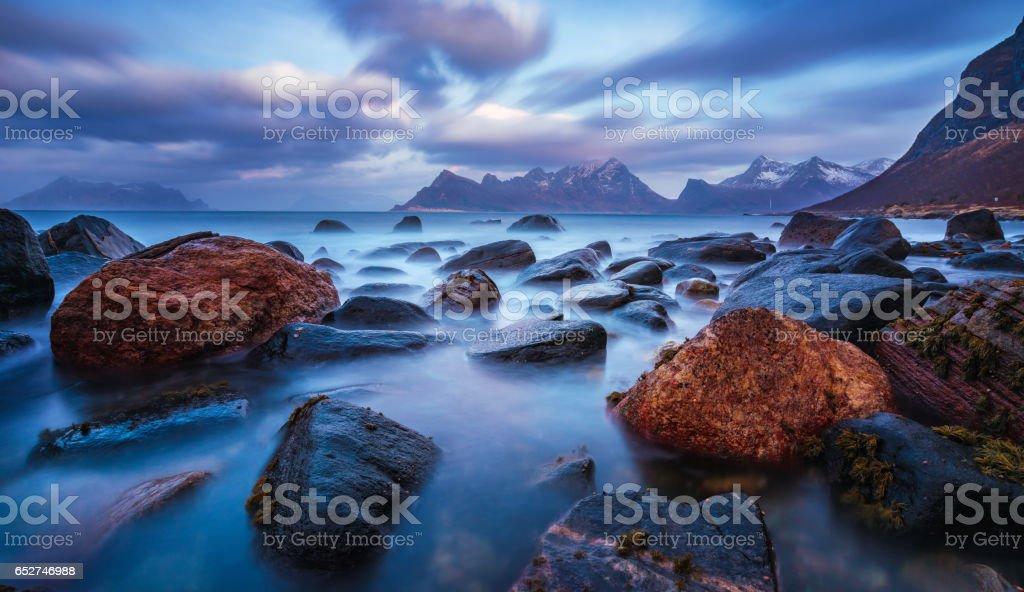 North Norway stock photo