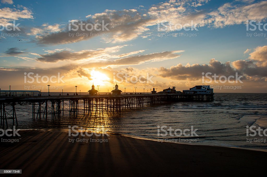 North Pier, Blackpool stock photo