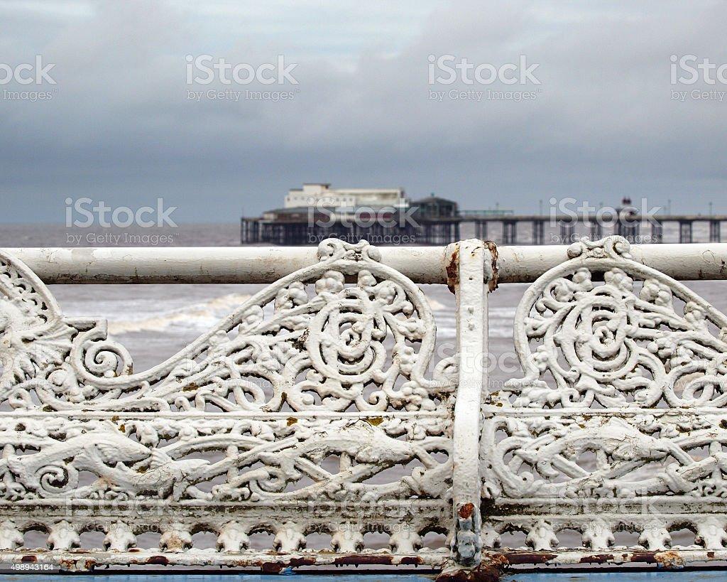 North Pier stock photo