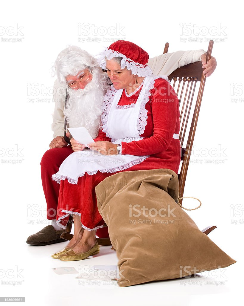 North Pole Mail royalty-free stock photo