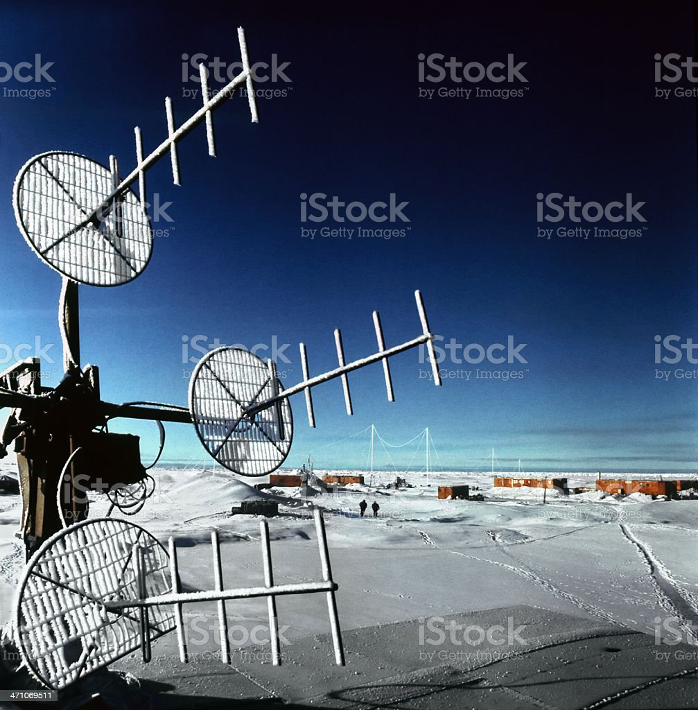 North Pole of the Earth royalty-free stock photo