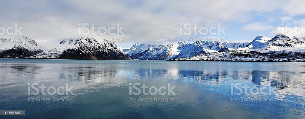 North Reflection stock photo